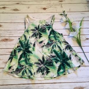 paper tee Tops - [Paper Tee] Floral Sleeveless Top